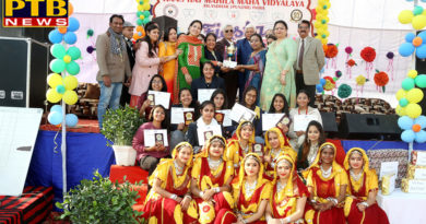 HMV Collegiate School wins Overall Trophy in Colors