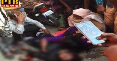 PTB Big Crime News Unidentified assailants shot dead Congress leader Firozpur Punjab