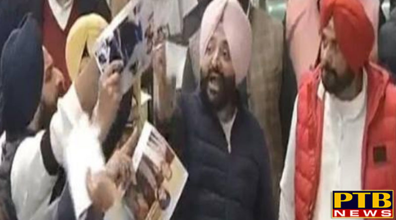 PTB Big Political NewsPunjab sidhu and majithia dispute in punjab vidhansabha