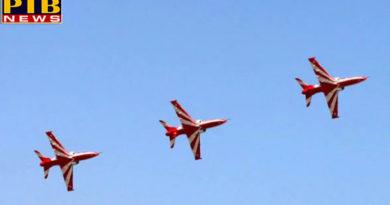 PTB Big Breaking Newsindia news two aircraft of surya kiran aerobatics team crashed at yelahanka airbase