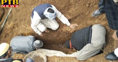 PTB Big Breaking NewsBeginning of the burial of the Pak intruder's grave Jammu kashmir
