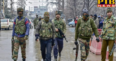 PTB Big Breaking News india news pulwama encounter jaish e mohammad commander kamran killed dig amit kumar lieutenant colonel and captain injured