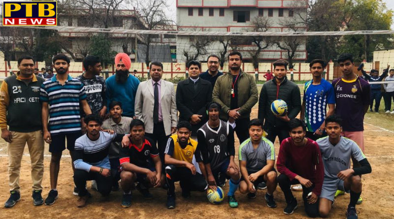 Trinity Sports And Cultural Bonanza-2018 Competition commences at Trinity College Jalandhar
