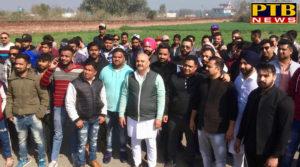 PTB Big Political News youth Akali dal Punjab JalandharNAVI SOCH NAVA JOSH YOUTH CHETNA RALLY at Dana Mandi Goraya Sukhbir singh Badal