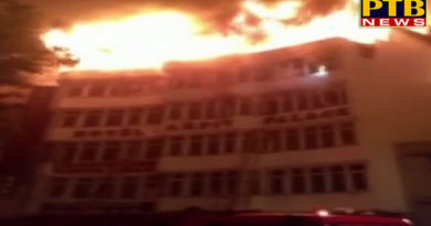 PTB Big Sad News delhi a fierce fire in the hotel of karol bagh people junked by the window 17 killed PTB Big Breaking News