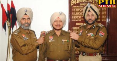 PTB Big City NewsJalandhar police commissioner Gurpreet singh Bhullar and DCP Gurmeet Singh has now planted these stars