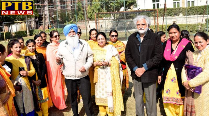 Organizing Basant Panchami in Lyallpur Khalsa College for Women