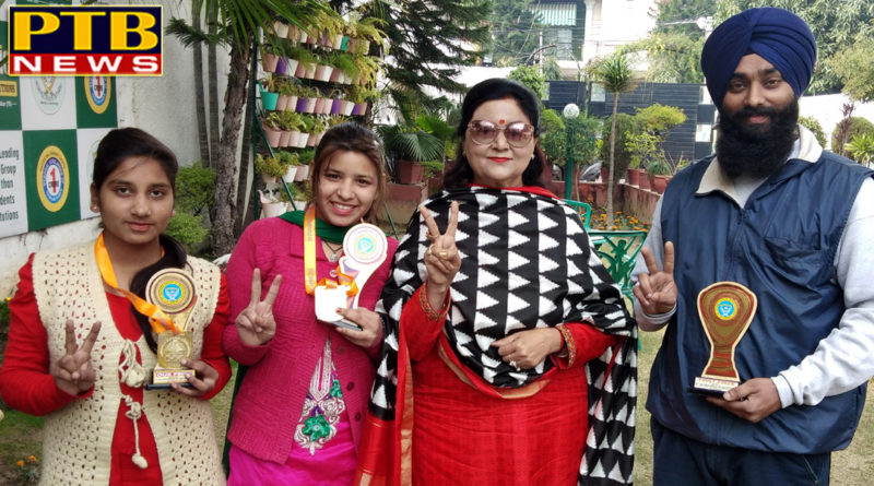 St Soldier Students won Gold Medals in National Level Singing Competition
