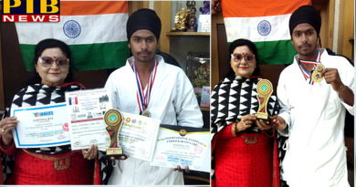 St Soldier Student won Gold Medal in Egypt