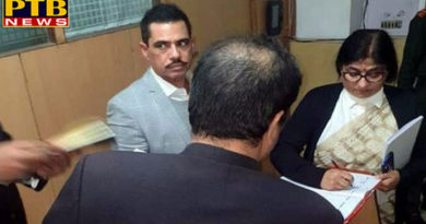 PTB Big Breaking Newsed questioned on second day from robert vadra for 2 hours