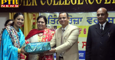 Punjabi cultural Workshop at St Soldier Co-Ed College