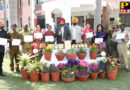Lyallpur Khalsa College Jalandhar won the award in Flower and Plant Show