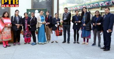Best wishes card ceremony for HMV Collegiate Sr. Sec. School Jalandhar