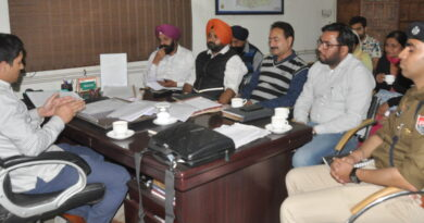PTB Big City News ADC Jalandhar asks Bank officials to perform their poll duties sincerely PTB Big Breaking News