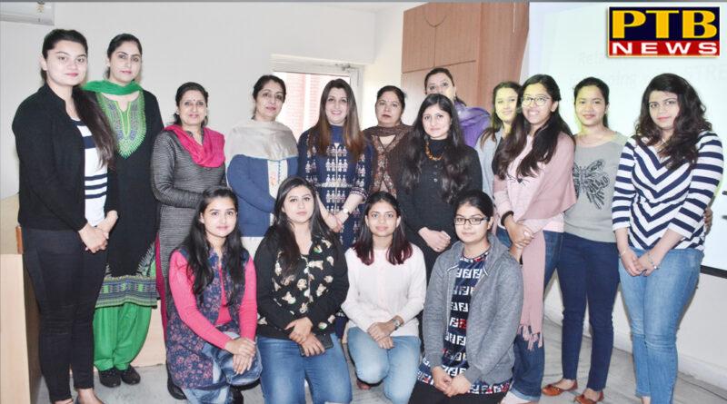 """PTB News """"शिक्षा"""" WORKSHOP ON PSYCHOLOGY AT APEEJAY College Jalandhar"""