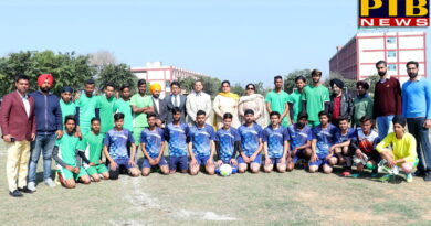 2 Days Zonal Football Tournament at St Soldier Polytechnic College Jalandhar