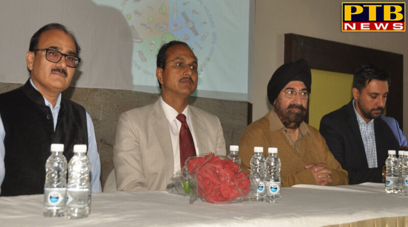 Take hotel and catering representatives clean Jalandhar DC Vrinder Kumar Sharma and Civil Sargon Dr. Rajesh Bagga