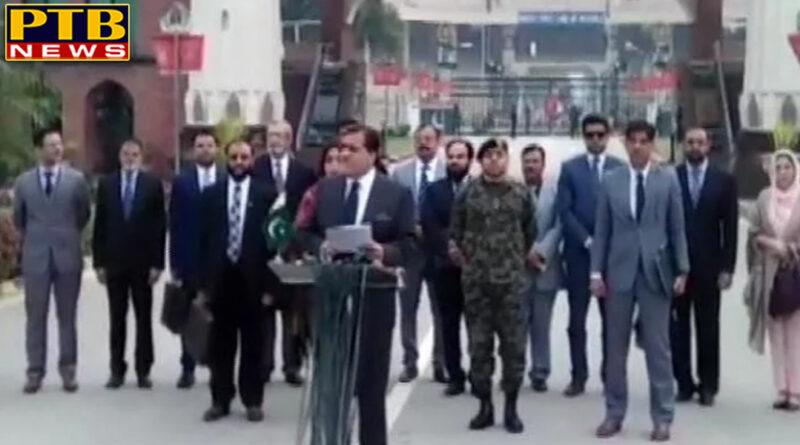 PTB Big Breaking News chandigarh india pakistan meeting on wagah attari border on kartarpur corridor