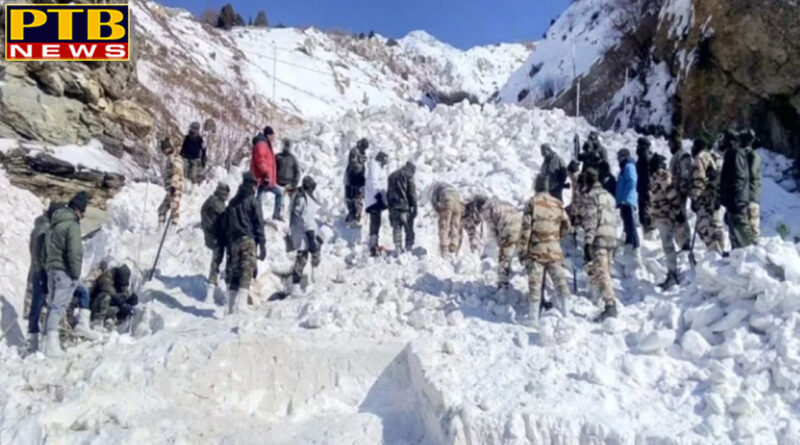 PTB Big Breaking News shimla martel remains of two more martyr buried in avalanche recovered in kinnaur himachal