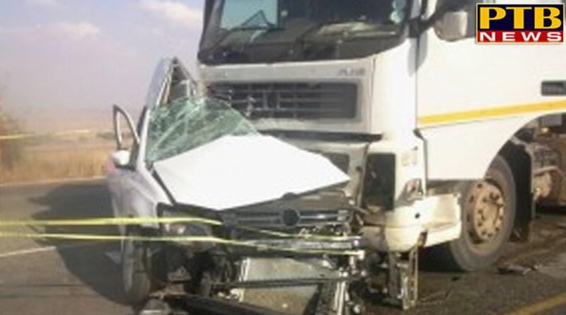 PTB Big Accident News madhya pradesh gwalior 4 died in a road accident near gwalior