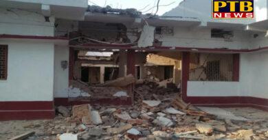 PTB Big Political News bihar residence of bjp leader anuj kumar singh in dumariya blasted with dynamite by naxals in