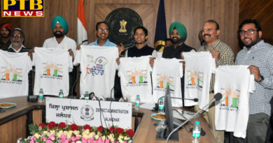 DISTRICT ADMINISTRATION GEARS UP FOR MARATHON ON MARCH 31 AS DC RELEASES T-SHIRT FOR EVENT