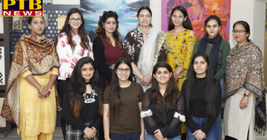 Students of APJ College of Fine Arts won seven of the first ten positions of the University