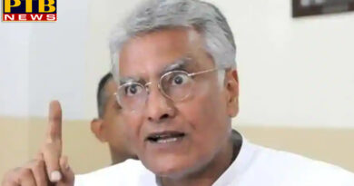 PTB Big Political News Punjab sunil jakhar says sad and dera sacha sauda are same