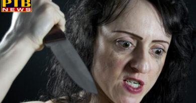 PTB Big Crime News DELHI wife murdered her husband brutally chops his head