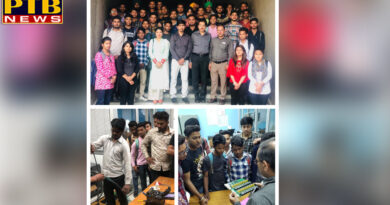 Students of Mehr Chand Polytechnic College of Industrial Visits of BSNL Office Jalandhar