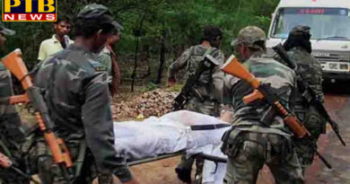 PTB Big Shocking News jharkhand naxalites killed by security forces in special operation a young martyr in encounter
