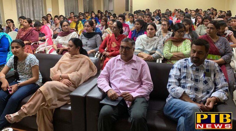 Lecture organised at Lyallpur Khalsa College for Women, Jalandhar