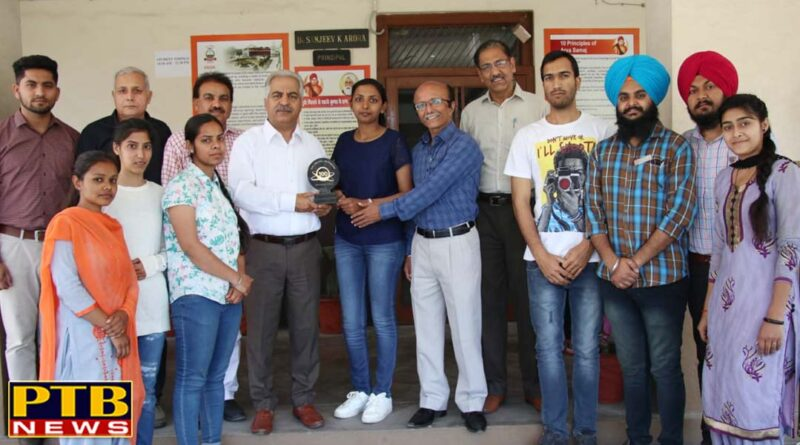 M. A. (Political Science) Students of DAV College, Jalandhar gave an excellent result in their 3rd Semester