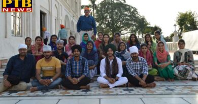 one day Cultural Historical tour for students of apeejay College Jalandhar