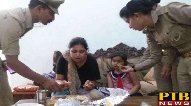 PTB Big Sad News jhansi man hostage wife and kids kept then hungry beaten them for many days