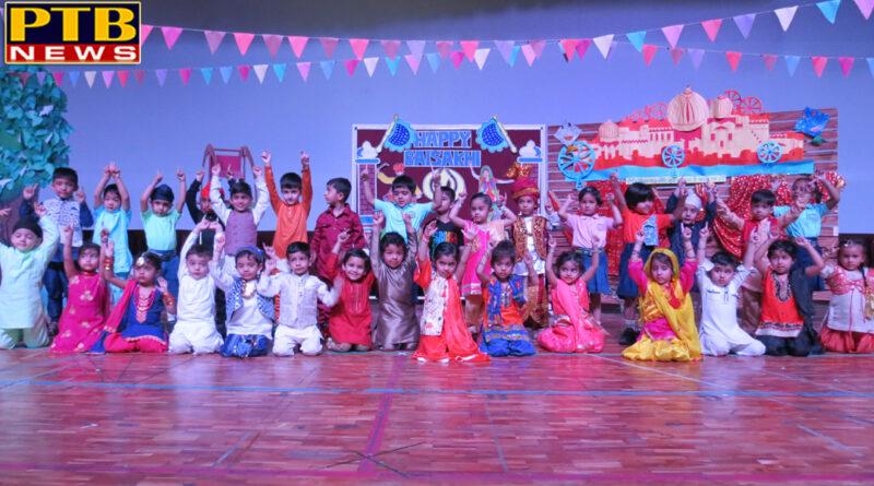 Baisakhi Festival was organized at IV World School Jalandhar