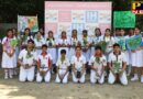 Save water Save Earth Go Green message was exhibited by the students of eco club in all the four schools of IHS