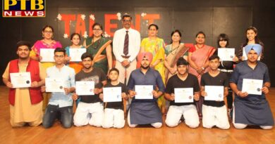 INNOCENT HEARTS SCHOOL CONDUCTS A TALENT HUNT COMPETITION