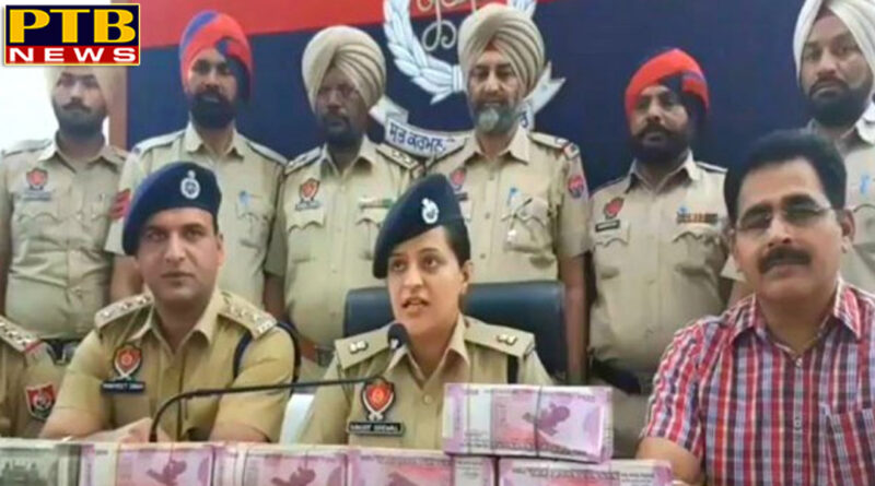 punjab sp patiala ravjot grewal on 1 crore cash seizure in patiala