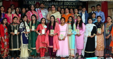 Farewell Party at St Soldier B.Ed College Jalandhar