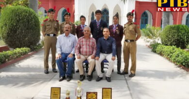PTB News Delhi Republic Day parade was attended by the Cadets of DAV College Jalandhar