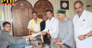 loksabha election 2019 Congress Mandi Candidate Aashray Sharma Files Nomination