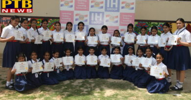 Honored students with 100% attendance in four schools of Innocent Harts