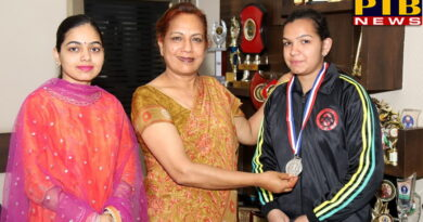 SD College for women girl winning in Punjab State Games