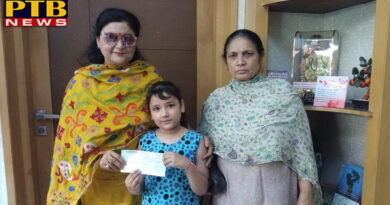 "PTB News ""शिक्षा"" Scholarship to 3rd Class Student by St soldier School"