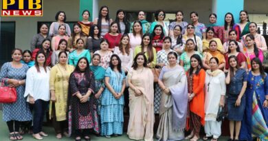 PTB News Mothers Day celebration IVY World School Jalandhar