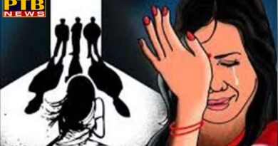PTB Big Crime News sexual harassment in front of husband and created video in rajasthan