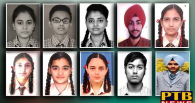 PTB News St Soldier Group students studying in the 10th CBSE results