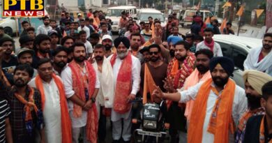 PTB Big Political News Dr. Charanjit singh atwal son bike relly in jalandhar