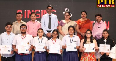 innocent hearts holds singing competition in senior secondary section